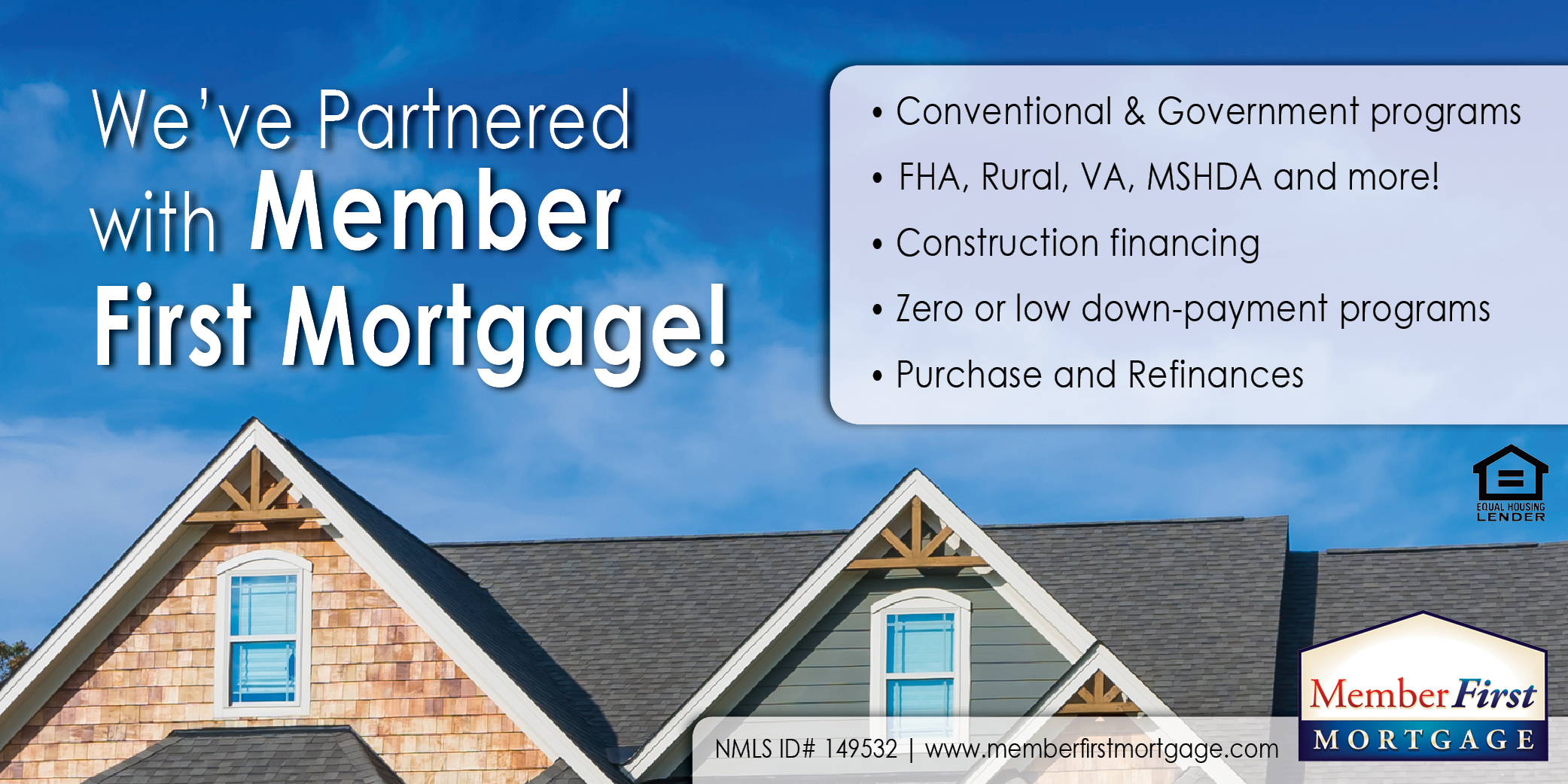 Member First Mortgage Pic