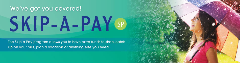 skip  payment web banner traverse catholic federal credit union