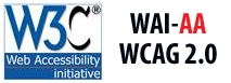 Level AA conformance,           W3C WAI Web Content Accessibility Guidelines 2.0