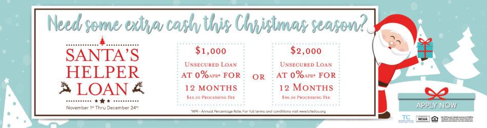Santa Helper Loan