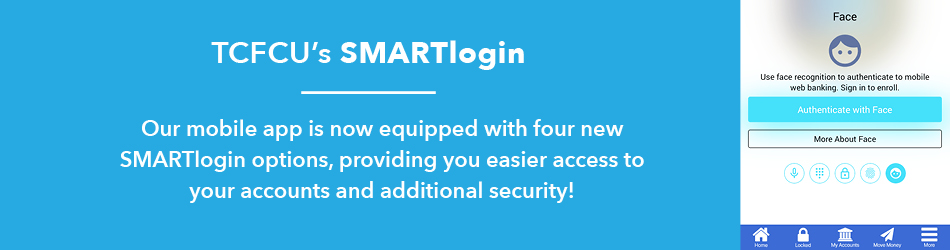 new SMARTlogin biometric login