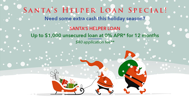Santas and a Sleigh Holiday Loan Special