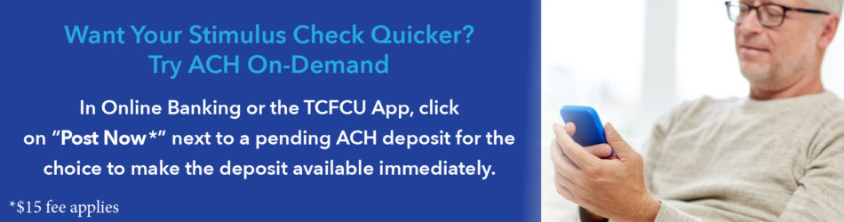 New: ACH On-Demand Posting