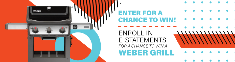 Enroll in E-statements for a Chance to Win!