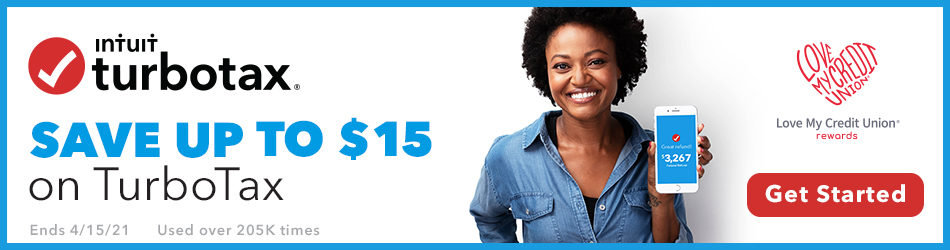 As a Credit Union Member, Save on TurboTax!